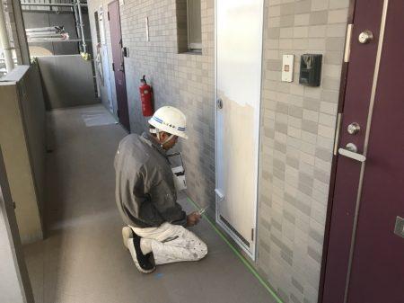 鹿児島ビル塗装工事